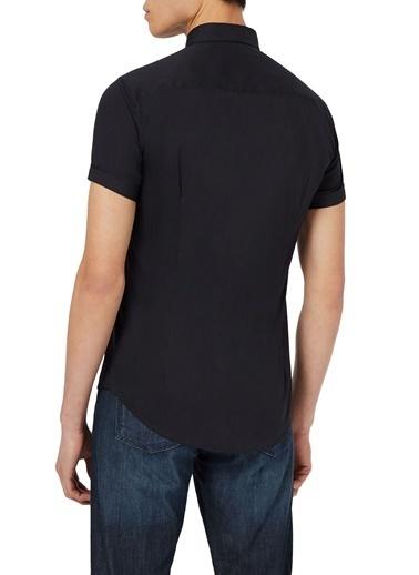 Emporio Armani  Slim Fit Pamuklu Gömlek Erkek Gömlek 8N1C10 1N06Z 0932 Lacivert